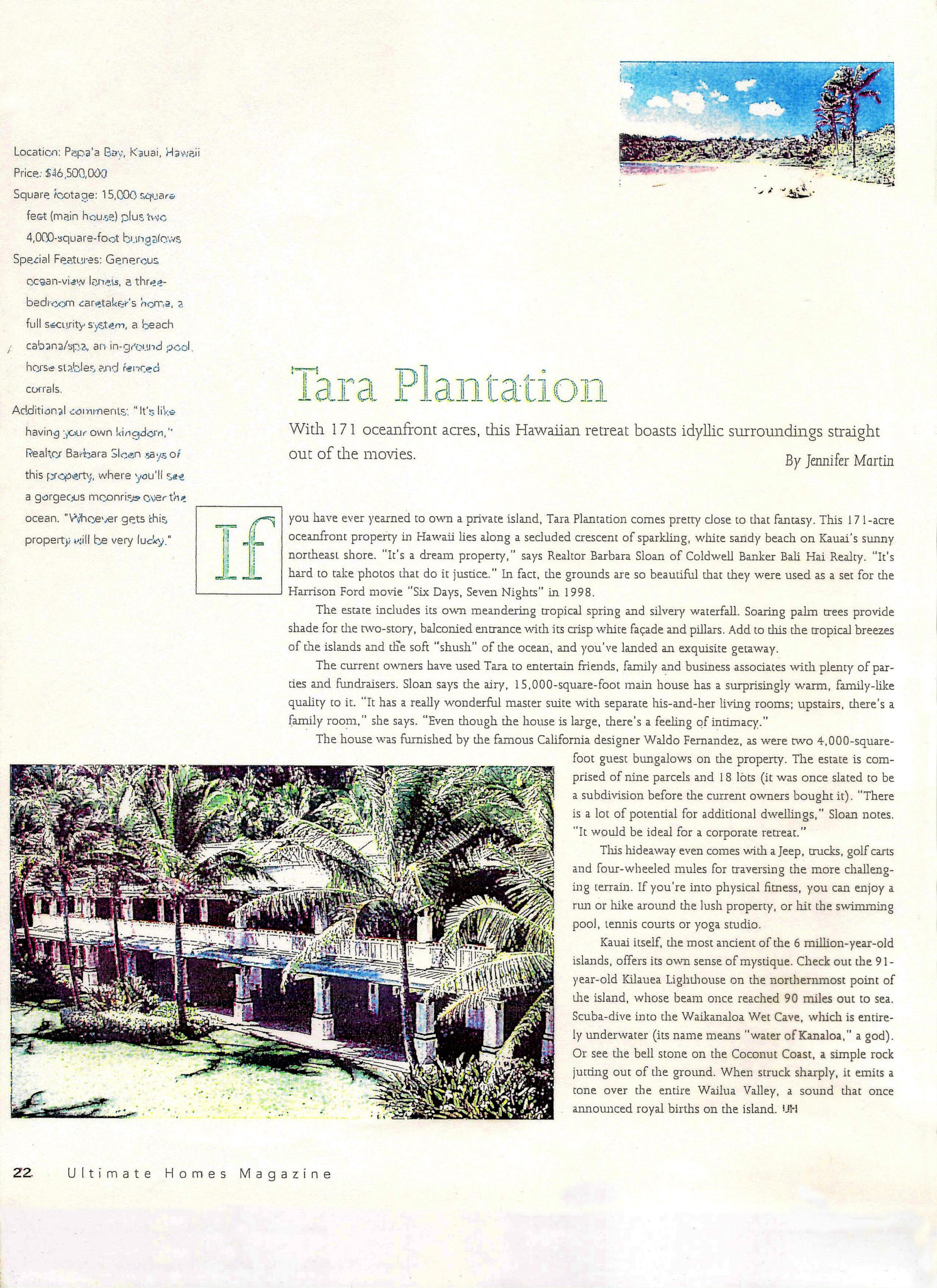 Trigg Smith Tara Plantation Brochure-Ultimate Homes-Page 1
