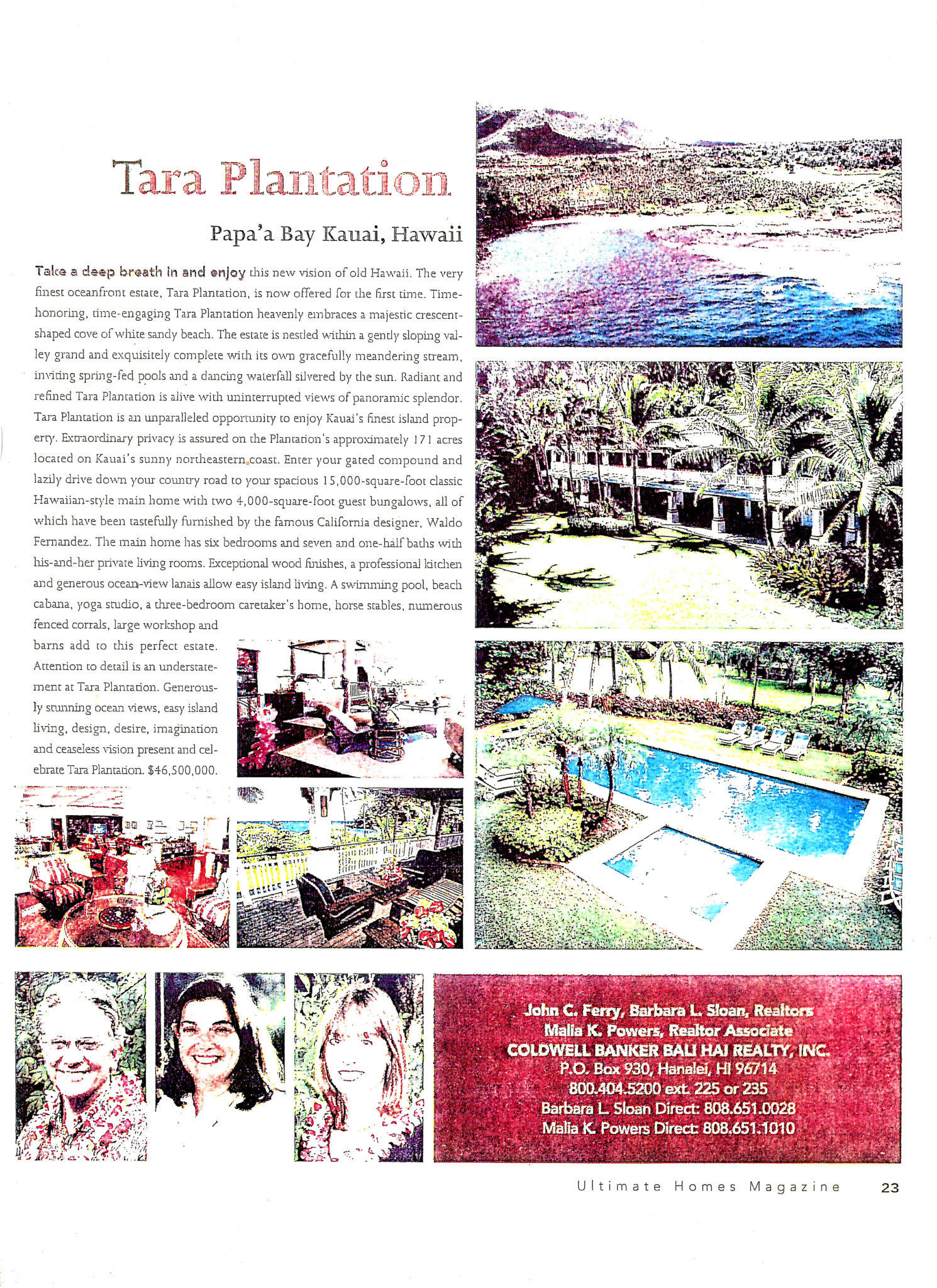 Trigg Smith Tara Plantation Brochure-Ultimate Homes-Page 2